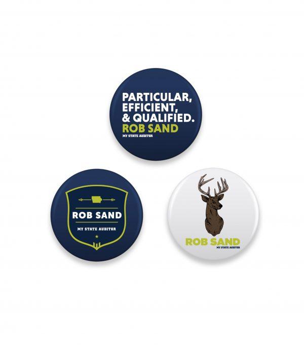 Rob Sand Three Button Set